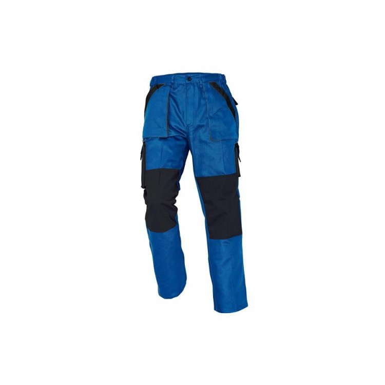 MAX nohavice modro-čierne